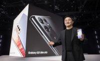 Samsung unveils Galaxy S21