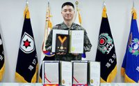 Army major honored for donating blood