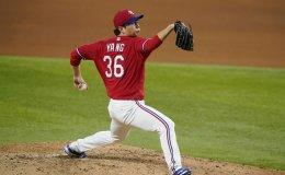 Rangers' Yang Hyeon-jong posts scoreless 4 1/3 innings against Red Sox