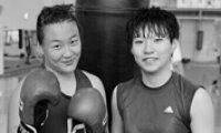 Female boxers fight against prejudice
