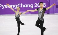 N. Korean figure skating pair renews personal best
