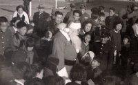 Christmas in Seoul in 1954