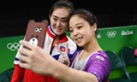 South, North Korean gymnasts' selfie among 10 biggest Rio moments