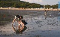 Hanagae offers beach for city dwellers