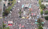 Massive rally against justice minister, President rocks Seoul