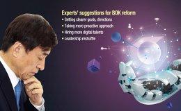 BOK urged to reinvent itself in digital era