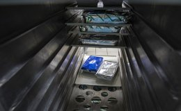 Virus fallout: Empty in-flight meal carts [PHOTOS]