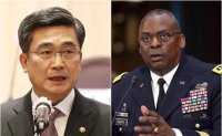 South Korean, US defense chiefs reaffirm alliance in phone talks