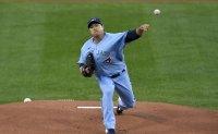 Blue Jays' Ryu Hyun-jin lacks fastball velocity, command vs. Yankees