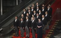 Abe's reshuffle designed for constitutional revision: experts