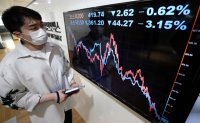 Stock indices fall on short-selling resumption
