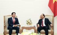 SK chairman to meet business moguls in Vietnam