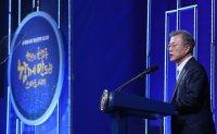Moon says Korea will seek to export 'smart cities'
