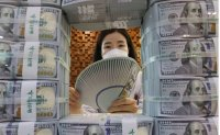 Korea's foreign reserves hit record high in April on weaker dollar
