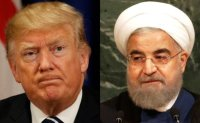 Iran to forego 2015 nuke pact; Trump threatens new attack
