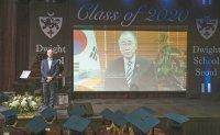 Dwight School Seoul celebrates graduation with socially distanced ceremony