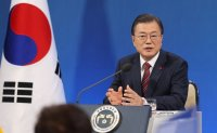 It is premature to talk about pardons of two ex-presidents: Moon