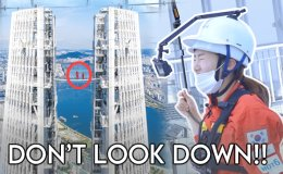 Sky Bridge Tour: Walking on top of the tallest skyscraper in Korea [VIDEO]