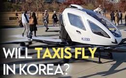 Flying taxis are just a few years away in Korea [VIDEO]