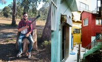 Banjo player releases music video set in Gamcheon
