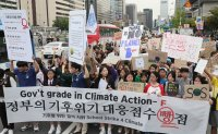 Korean students take part in global climate strike