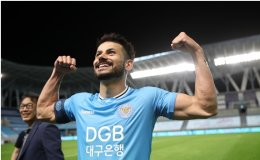 Daegu FC's ace Cesinha wants to become Korean
