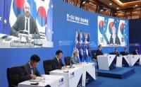 Korea, EU hold virtual summit