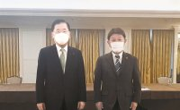 Top diplomats of South Korea, Japan finally meet but differ over history issues