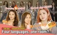 How foreign K-pop idols adjust to Korean life| K-pop rookie TRI.BE