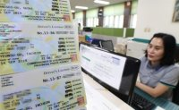 Over 130,000 English driver's licenses issued in a month