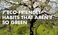 '7 Eco-Friendly Habits' that aren't so green