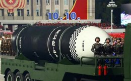 North Korea seen staging military parade: source