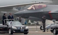 Seoul showcases F-35A stealth jets for 1st time