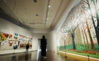 David Hockney exhibition 'splashes' into Seoul