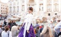 World traveler pushes boundaries of traditional garment