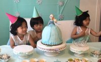 Youngest girl turns 2: big day for mom