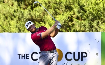 Hatton grabs first round lead at CJ Cup
