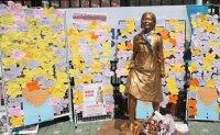 School, students battle over 'comfort women' statue unveiled at Kookmin University [PHOTOS]