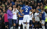 Spurs' Son in tears after Everton's Gomes injury