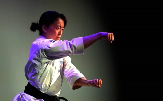 US karate champ Sakura Kokumai told to 'go home' in anti-Asian rant as she trains for Tokyo Olympics