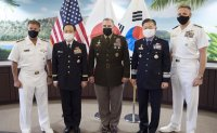 Military chiefs of South Korea, US, Japan vow to strengthen cooperation