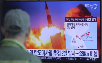 North Korea fires suspected missiles as world fights COVID-19