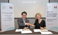 KT to take AI hotel platform to Philippines, Dubai, Guam