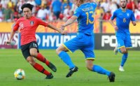 Korea loses to Ukraine 1-3 in FIFA U-20 World Cup final