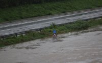 Seoul highways closed as downpours raise water level of Han River [PHOTOS]