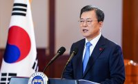 Moon underlines last-minute diplomacy with North Korea in New Year speech