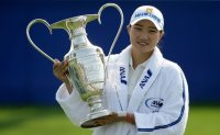 Newest LPGA major champion counts lucky stars after stunning victory