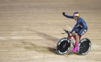 US rider Dygert breaks world record at track cycling worlds