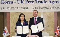 Korea-UK post-Brexit FTA