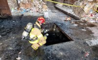 2 workers die, 2 critically wounded while cleaning inside manhole in Daegu